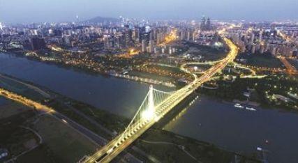 长沙关闭湘江两岸景观照明 双头螺栓